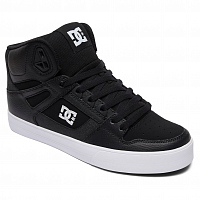 DC PURE HT WC M SHOE BLACK/WHITE