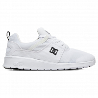 DC HEATHROW J SHOE WHITE/BLACK