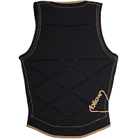FOLLOW STOW LADIES VEST BLACK