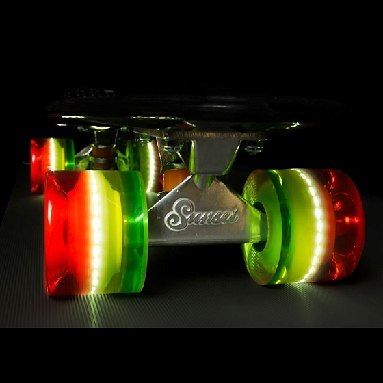 Колеса SUNSET SKATEBOARDS CRUISER WHEEL WITH ABEC9 SS от SUNSET SKATEBOARDS в интернет магазине www.traektoria.ru - 3 фото