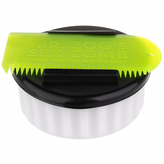 Аксессуар SEXWAX WHITE CONTAINER/YELLOW COMB SS18 от SEXWAX в интернет магазине www.traektoria.ru - 1 фото
