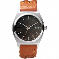 Nixon Time Teller Dark Copper/Saddle Woven