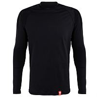 RED BASE LAYER SHIRT BLACK