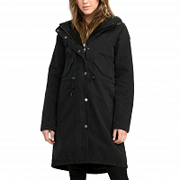 RVCA HIGHLANDS PARKA BLACK