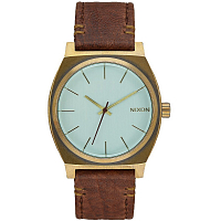 Nixon Time Teller BRASS/GREEN CRYSTAL/BROWN