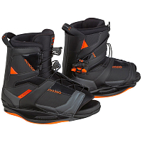 Ronix NETWORK BOOT Space Black/Electric Orange