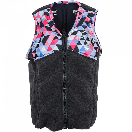 Жилет водный LIQUID FORCE Z-CARDIGAN WM COMP SS17 от Liquid Force в интернет магазине www.traektoria.ru - 1 фото