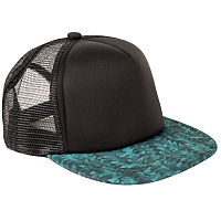 Mystic THE ICON CAP GREEN ALLOVER
