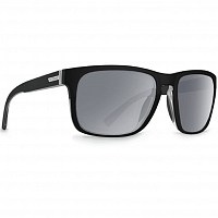 VonZipper LOMAX Black Satin/Grey Chrome