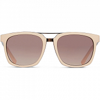 VonZipper PLIMPTON NUDE CRYSTAL TORT COPPER / SILVER FLASH BROWN GRAD