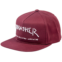 THRASHER NEW RELIGION MAROON