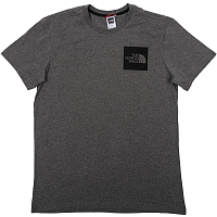 The North Face M S/S FINE TEE TNF ME GREY HEA (DYY)