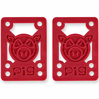 Pig PILES SOFT RISERS/SHOCK RED
