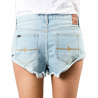 Rusty GET CUFFED DENIM SHORT BROKEN BLUE