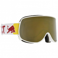Spect RED BULL MAGNETRON EON MATT WHITE/GOLD SNOW - SMOKE WITH GOLD MIRROR