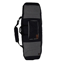 Ronix BATTALION PADDED BOARD CASE HEATHER CHARCOAL / ORANGE