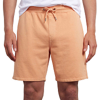 Volcom CASE FLEECE SHORT SUMMER ORANGE