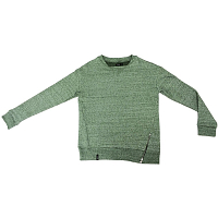Emblem SWEATSHORT ZIP GREEN