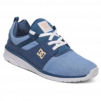 DC Heathrow SE J Shoe NAVY/WHITE