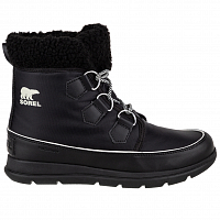 Sorel SOREL EXPLORER CARNIVAL Black, Sea Salt