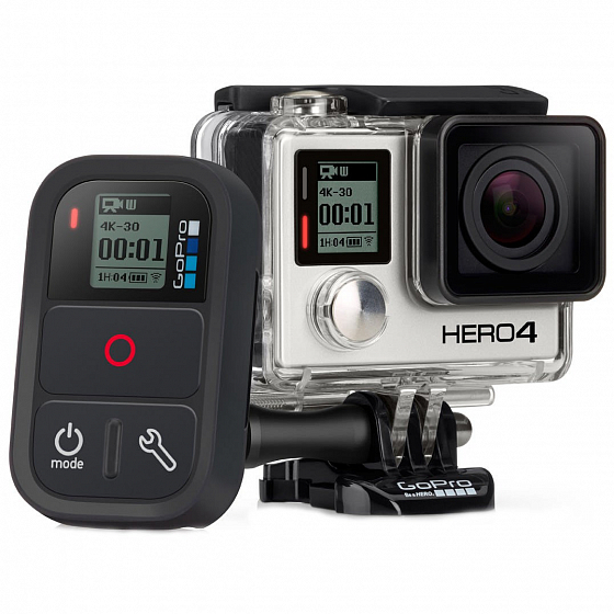 Аксессуар GOPRO ARMTE-002 (Smart Remote) A/S от GoPro в интернет магазине www.traektoria.ru - 1 фото