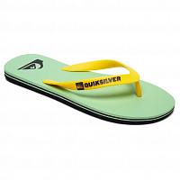 Quiksilver MOLOKAI ML BLACK/GREEN/WHITE
