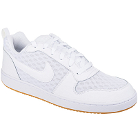 Nike COURT BOROUGH LOW SE WHITE/WHITE-BLACK-GUM LIGHT BROWN