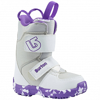 Burton MINI - GROM WHITE/PURPLE