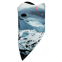 Airhole FACEMASK STANDARD 2 LAYER BLACKTUSK