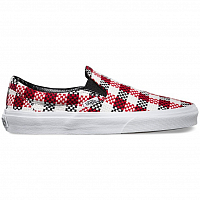 Vans Classic Slip-On (Checker Plaid) black/true white
