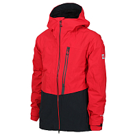 686 MNS GLCR GORE SMRTY WEAPON JKT RED COLOR BLOCK