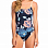Roxy RO FI SP 1PC J MED BLUE FULL FLOWERS L SW