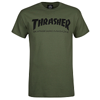 Thrasher SKATEMAG-S/S Army Green