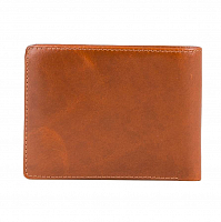 Rusty LOW RIVER LEATHER WALLET TAN