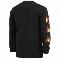 SPITFIRE L/S NO MERCY SLV BLK/RED