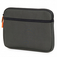 Herschel ANCHOR SLEEVE FOR IPAD AIR Rifle Green/Neon Orange