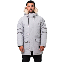 Footwork AMUT PARKA SILVER-BLACK