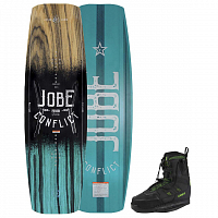 Jobe CONFLICT WAKEBOARD 145 & NITRO SET ASSORTED