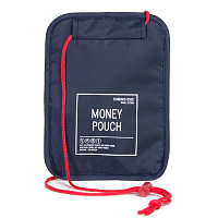 Herschel MONEY POUCH NAVY/RED