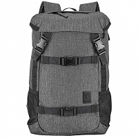 Nixon SMALL LANDLOCK SE BACKPACK II Charcoal Heath