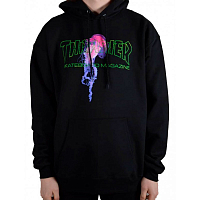 THRASHER ATLANTIC DRIFT HOOD BLACK