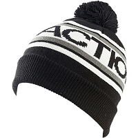 Faction LOGO POM POM BEANIE BLACK