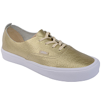 Vans UA Authentic Decon Lite (Leather) Gold