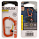Nite Ize CARABINER SLIDELOCK ALUMINUM 3 ORANGE