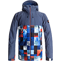 Quiksilver SIERRA JK M SNJT BLUE RED ICEY CHECK