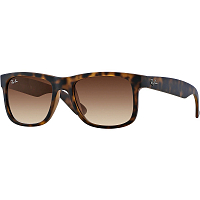 Ray Ban JUSTIN RUBBER LIGHT HAVANA/BROWN GRADIENT