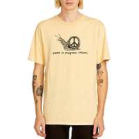 Volcom PEACEISPROGRESS SS T LIGHT PEACH