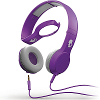 Skullcandy CASSETTE w/Mic Athletic Purple