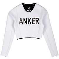 ANKER 2MM HANNA CROP TOP White