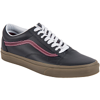 Vans UA OLD SKOOL (Bleacher) black/port/gum